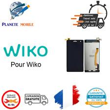 Ecran LCD + Vitre Tactile Wiko Pour Highway Noir