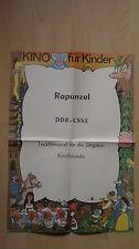 (D127) DDR-Kinoplakat RAPUNZEL