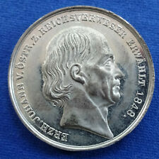 Erzherzog Johann von Österreich - Zinnmedaille 1848 (Drentwett) - Reichsverweser