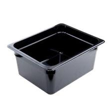 Cambro 26Hp110 H-Pan 1/2 Size 6in Deep Hi-Temp Plastic Food Pan