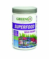 Greens Plus Organic Superfood Wild Berry  _ 8.46 Oz (240 G)