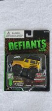 FACTORY SEALED  DEFIANTS  4X4 OVERALL TRUCK  - TRY ME BATTERY STILL WORKING