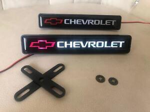 New Chevrolet front grille badge lighting LED light decal logo sticker