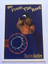 1995 Topps From The Roof Basketball Card - 260 Charles Barkley Phoenix Suns