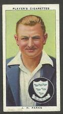 PLAYER'S 1938 CRICKETERS J.H. Parks Card No 18 of 50 CRICKET CIGARETTE CARDS