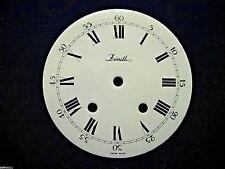 Cadran pendule neuchateloise Zenith horloge Uhr Clock Zifferblatt 151 MM dial F6