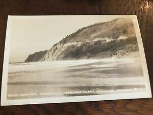 Neah Kah Nie Neahkahnie Mountain Oregon OR Postcard RPPC