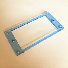 Guitar Parts Humbucker Pickup Bezel Acrylic MOUNTING RING - FLUORESCENT BLUE