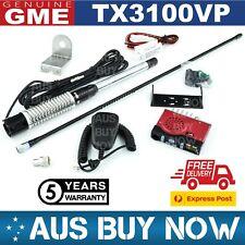 GME TX3100VP UHF CB TWO WAY RADIO AE4018K2 MB407SS VEHICLE CAR TRUCK 3100 TX VP