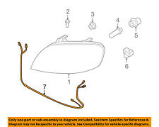 Chevrolet GM OEM 10-11 Aveo Headlamp-Front Lamps-Wire Harness 96072952