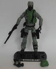 Fuerza de acción/Gi Joe choque Blast Shockwave Wal Mart exclusivo repintado Completa
