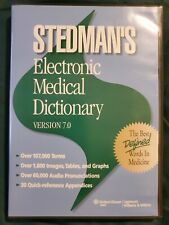 Electronic Medical Dictionary (2006, CD-ROM, Revised edition)