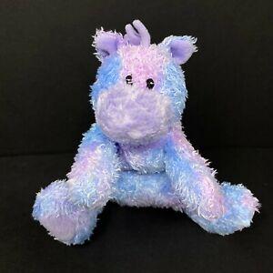 "Baby Gund Sprinkles Horse Pony Plush Lavender Purple Blue 6"" Rattle 58179 Lovey"