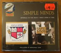 Simple Minds Sparkle in the rain + Once upon a time 2 CD