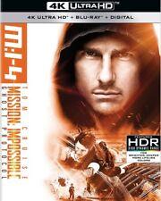 MISSION IMPOSSIBLE GHOST PROTOCOL (4K ULTRA HD ) - Blu Ray -Region free