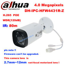 Dahua IPC-HFW4431R-Z 4MP POE 2.7~12mm VF Lens Motorized Zoom IP Bullet Camera IR