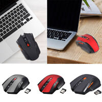 2.4GHz Wireless Gaming Mouse USB Receiver Optical Ergonomic Backlit Laptop Gamer