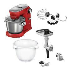 Bosch MUM9A66R00 Küchenmaschine Rot + MUZ9BS1 BakingSensation Fleischwolf
