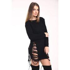 Damen-Pullover & -Strickware mit Rundhals-Ausschnitt aus Wolle S