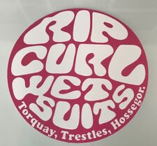 Rip Curl Sticker - Surfer Girl Surf Wetsuits Surfing Waves Beach Tropical
