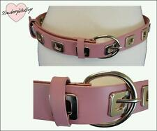 Unbranded Faux Leather Studded Wide Belts for Women