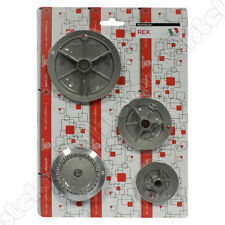 CUCINA PIANO COTTURA ELECTROLUX ZANUSSI REX RICAMBIO KIT 4 BRUCIATORI a.5605029