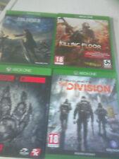 XBox One Games x 4 - incl Final Fantasy etc