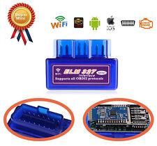 OBDII OBD2 Diagnostic Scanner Wifi Bluetooth Car Tool For PC iOS iPhone iPad MAC