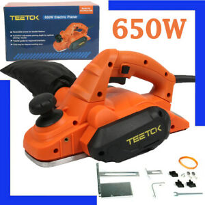 650W Electric Hand Planer with 82mm Planing Width Woodworking Power Tool 230V