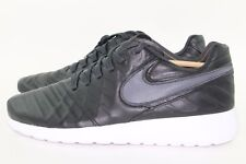 nike roshe run - mens newsprint/newsprint/newsprint/blue hero width - d - medium