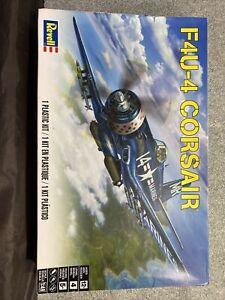 REVELL CORSAIR F4U-4 , 1/48 SCALE , AIRCRAFT MODEL KIT # 85-5248
