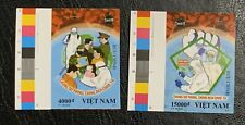 Vietnam 2020 Anti NCoV Fight The Virus Set Of 2 Stamps VN #1121 MNH Imperforate