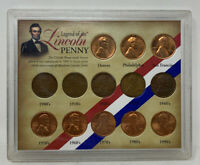 United States Legend of the Lincoln Penny 13 coin Set Collection FREE SHIPPING!