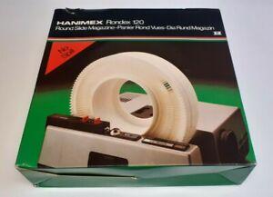 HANIMEX Rondex 120 Series 35 mm Rotary Round Slide Magazine. No Spill. Boxed