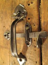 ANTIQUE  BARN  DOOR  HANDLE  THUMB  LATCH  SET
