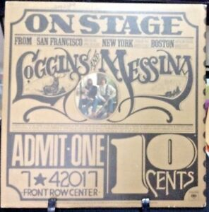 LOGGINS & MESSINA On Stage Double Album Released 1974 Vinyl/Record  Collection