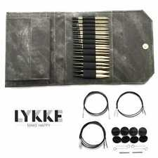 Lykke ::Driftwood Interchangeable Gift Set:: in Grey Denim Pouch Brand New