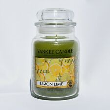 Yankee Candle Lemon Lime Jar Candle 22oz  Retired New