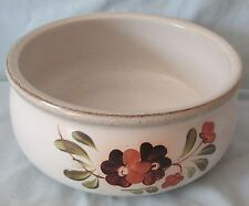 Denby Langley Brown Serenade Round Serving Bowl 7 1/2""