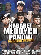 KABARET MLODYCH PANOW - DVD - Polen,Polnisch,Polish,Polska.Poland,Polonia