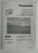 - Panasonic Instruction Manual DMC-LC20E - Digital Camera - IT NL