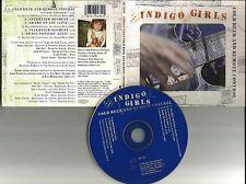 INDIGO GIRLS  w/ SHERYL CROW Cold beer w/ 2 LIVE TRX & INTERVIEW USA CD single