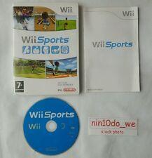[Wii] SPORTS = 5 Superb Games! GOLF, TENNIS, BOWLING, BASEBALL + BOXING