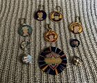 DOCTOR WHO Pinball Machine Promos and Pin Badge Lot