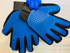Pack 2 of Pet Grooming Glove for Shedding, Massaging and Hair Removal