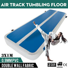 10Ft Air Track Floor Tumbling Inflatable Gym Mat 8in Thick Fitness gymnastic