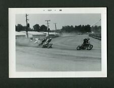 Flat Track Motorcycle Racing Motion Vintage 1968 Photo 466174