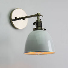 Brass wall lights ebay 63 vintage industrial wall sconce loft wall lamp brass fixture wswitches aloadofball Images