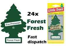 "MAGIC TREE ""LITTLE TREE"" FOREST FRESH FRAGRANCE CAR AIR FRESHENER PACK OF 24"
