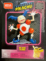 Mega Construx Pokemon Detective Pikachu Mr. Mime Building Set - 70 Pieces New